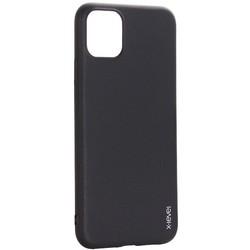 """Чехол-накладка силиконовый X-Level для iPhone 11 Pro Max (6.5"""") Черный"""
