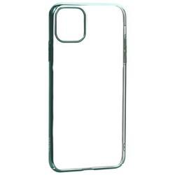 "Чехол-накладка пластиковый X-Level для iPhone 11 Pro Max (6.5"") Зеленый глянцевый борт"