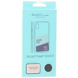 Защитный чехол BoraSCO B-38528 Mate для Samsung Galaxy A01, черный матовый