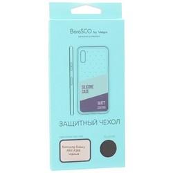 Защитный чехол BoraSCO B-36441 Mate для Samsung Galaxy A50/ A30S, черный матовый