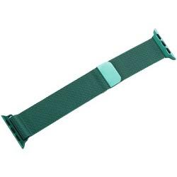 Ремешок из нержавеющей стали COTEetCI W6 MAGNET Band (WH5202-GR) для Apple Watch 40мм/ 38мм Зеленый