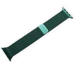 Ремешок из нержавеющей стали COTEetCI W6 MAGNET Band (WH5203-GR) для Apple Watch 44мм/ 42мм Зеленый