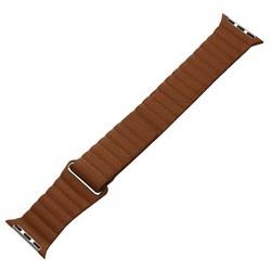 Ремешок кожаный COTEetCI W7 Leather Magnet Band (WH5205-SN) для Apple Watch 40мм/ 38мм Светло-коричневый