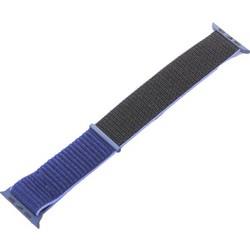 Ремешок COTEetCI W17 Magic Tape Band (WH5225-NB-40) для Apple Watch 40мм/ 38мм Темно-синий