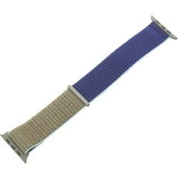 Ремешок COTEetCI W17 Magic Tape Band (WH5226-KR-42) для Apple Watch 44мм/ 42мм Хаки