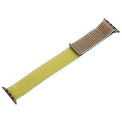 Ремешок COTEetCI W17 Magic Tape Band (WH5225-TS-40) для Apple Watch 40мм/ 38мм Светло-коричневый