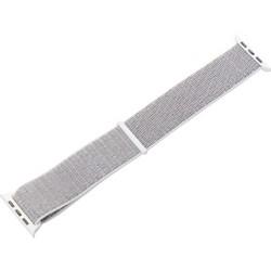 Ремешок COTEetCI W17 Magic Tape Band (WH5226-HB-42) для Apple Watch 44мм/ 42мм Светло-серый