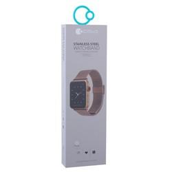 Ремешок - сетчатый браслет Миланский COTEetCI W23 (WH5236-MRG) для Apple Watch 44мм/ 42мм Розовое золото