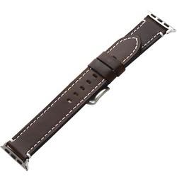 Ремешок кожаный COTEetCI W35 Homag Leather Band (WH5259-BR) для Apple Watch 44мм/ 42мм Коричневый