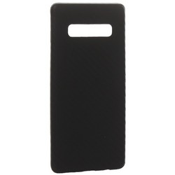 Чехол-накладка карбоновая K-Doo Air Carbon 0.45мм для Samsung S10 черная
