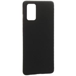 Чехол-накладка карбоновая K-Doo Air Carbon 0.45мм для Samsung S20 Plus черная