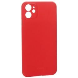 """Чехол-накладка пластиковая K-Doo Air Skin 0.3мм для Iphone 11 (6.1"""") Красная"""