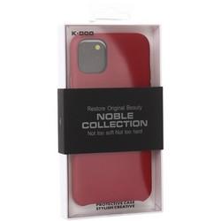 "Чехол-накладка кожаная K-Doo Noble Collection (PC+PU) для Iphone 11 (6.1"") Красная"