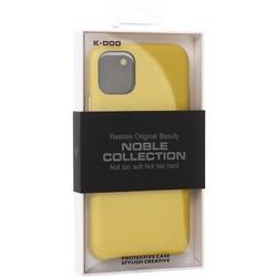 "Чехол-накладка кожаная K-Doo Noble Collection (PC+PU) для Iphone 11 (6.1"") Желтая"