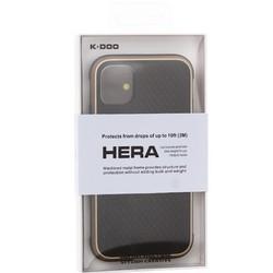 """Чехол-накладка противоударная K-Doo Hera (Metal+TPU+PC) для Iphone 11 (6.1"""") Золотисто-черный"""