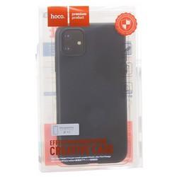 """Чехол силиконовый Hoco Fascination Series для iPhone 11 (6.1"""") Черный"""