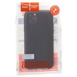 """Чехол силиконовый Hoco Fascination Series для iPhone 11 Pro (5.8"""") Черный"""