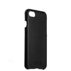 """Чехол-накладка кожаный Valenta (C-1221) для iPhone SE (2020г.)/ 8/ 7 (4.7"""") Back Cover Classic Style черный"""