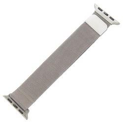 Ремешок из нержавеющей стали MAGNET Band для Apple Watch 40мм/ 38мм Серебро