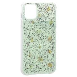 """Чехол-накладка WK Design Amber Series пластик со стразами для iPhone 11 (6.1"""") силиконовый борт Мятный"""
