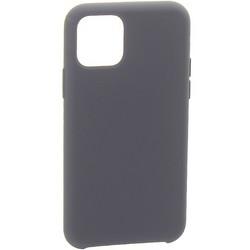 """Накладка силиконовая MItrifON для iPhone 11 (6.1"""") без логотипа Charcoal grey Угольно-серый №15"""
