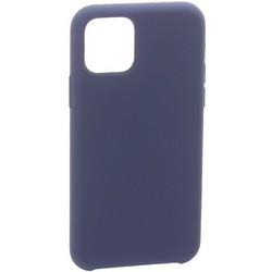 """Накладка силиконовая MItrifON для iPhone 11 Pro Max (6.5"""") без логотипа Midnight Blue Темно-синий №8"""