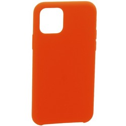 """Накладка силиконовая MItrifON для iPhone 11 Pro Max (6.5"""") без логотипа Product red Красный №14"""