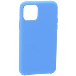 """Накладка силиконовая MItrifON для iPhone 11 Pro Max (6.5"""") без логотипа Sapphire Синий №3"""