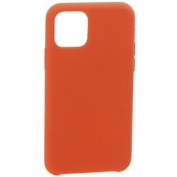 "Накладка силиконовая MItrifON для iPhone 11 Pro Max (6.5"") без логотипа Camellia Розовая камелия №25"