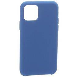 """Накладка силиконовая MItrifON для iPhone 11 Pro Max (6.5"""") без логотипа Deep blue Темно-синий №20"""