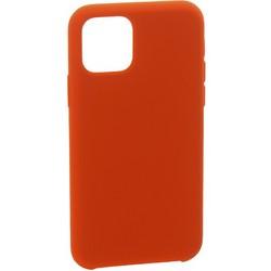 """Накладка силиконовая MItrifON для iPhone 11 Pro Max (6.5"""") без логотипа Red Красный №33"""