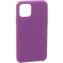 """Накладка силиконовая MItrifON для iPhone 11 Pro Max (6.5"""") без логотипа Violet Фиолетовый №45"""