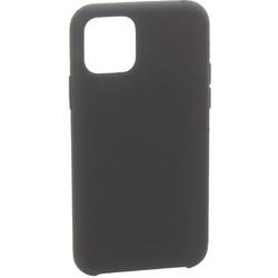 """Накладка силиконовая MItrifON для iPhone 11 (6.1"""") без логотипа Black Черный №18"""