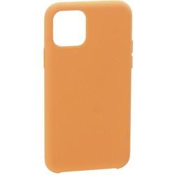 """Накладка силиконовая MItrifON для iPhone 11 (6.1"""") без логотипа Flamingo Персиковый №27"""