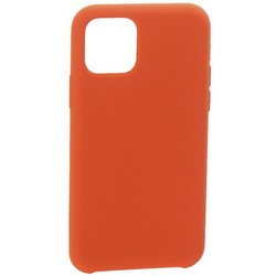 """Накладка силиконовая MItrifON для iPhone 11 (6.1"""") без логотипа Camellia Розовая камелия №25"""