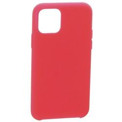 "Накладка силиконовая MItrifON для iPhone 11 (6.1"") без логотипа Bright pink Ярко-розовый №47"