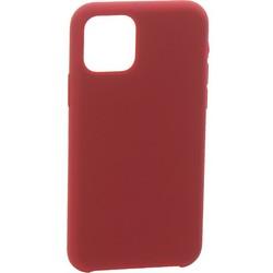 """Накладка силиконовая MItrifON для iPhone 11 (6.1"""") без логотипа Maroon Бордовый №52"""