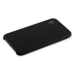 """Накладка силиконовая MItrifON для iPhone XS Max (6.5"""") без логотипа Black Черный №18"""