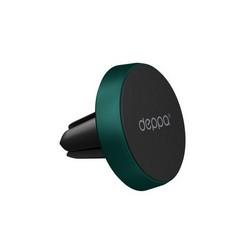 Автомобильный держатель магнитный Deppa Mage mini D-55178 (до 200 гр.) универсальный в решетку Зеленый