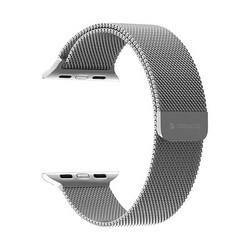 Ремешок из нержавеющей стали Deppa Band Mesh D-47140 для Apple Watch 40мм/ 38мм Серебристый
