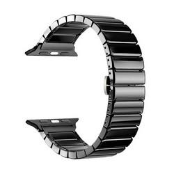 Ремешок керамический Deppa Band Сeramic D-47121 для Apple Watch 44мм/ 42мм Черный