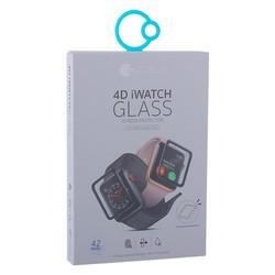 Стекло защитное COTEetCI 4D Black-Rim Full Viscosity Glass 0.1mm для Apple Watch Series 3/ 2/ 1 (42мм) CS2213-42-watch