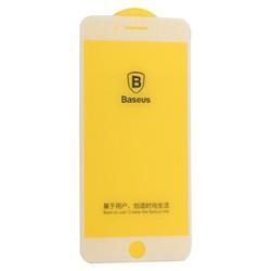 """Стекло защитное Baseus 3D Arc-Surface Anti-Fingerprints SGAPIPH8P-AJG02 для iPhone 8 Plus/ 7 Plus (5.5"""") 0.30mm White"""