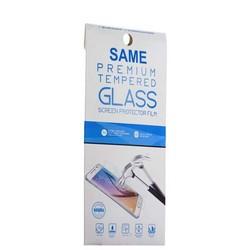 Стекло защитное для Samsung GALAXY A7 SM-A700F (2015 г.) - Premium Tempered Glass 0.26mm скос кромки 2.5D