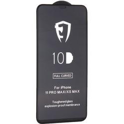 """Стекло защитное 10D Full Glue Premium Glass (полноклейкое) для iPhone 11 Pro Max/ Xs Max (6.5"""") Black"""