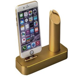 Док-станция COTEetCI Base1 Charging Cradle для Apple Watch & iPhone X/ 8 Plus/ 8/ SE/ iPod stand CS2045-CEG Gold - Золото