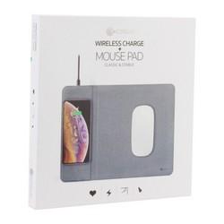 Беспроводное зарядное устройство - коврик COTEetCI Wireless Fast Charger для Apple iPhone & Mouse Pad (CS5186-BK) Черный