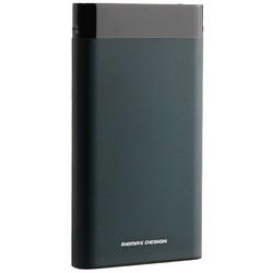 Аккумулятор внешний универсальный Remax RPP120- 10000 mAh Renor Power Bank (2USB: 5V-2.1A) Green Зеленый