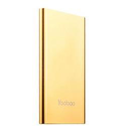 Аккумулятор внешний универсальный Yoobao Dual Inputs Lightning & microUSB YB-PL5 (USB выход: 5V 2.1A) Gold 5000 mAh ORIGINAL