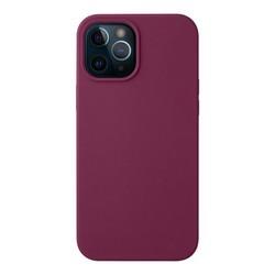"Чехол-накладка силикон Deppa Liquid Silicone Case D-87785 для iPhone 12 Pro Max (6.7"") 1.7мм Бургунди"